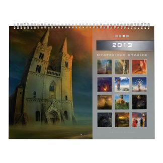 2013 Mysterious Stories 3 - Huge Wall Calendar
