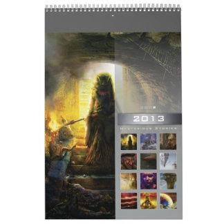 2013 Mysterious Stories 4 - Wall Calendar