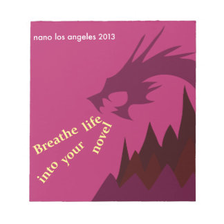2013 NaNoLA - Breathe Life into Your Novel Scratch Pads
