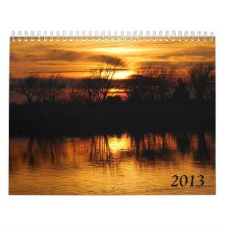 2013 Nature Wall Calendar