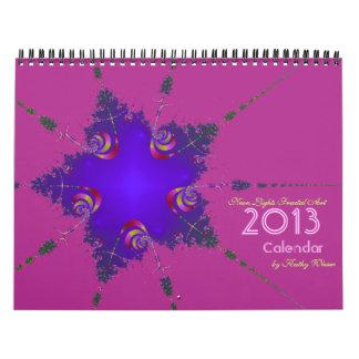 2013 Neon Lights Fractal Art Calendar
