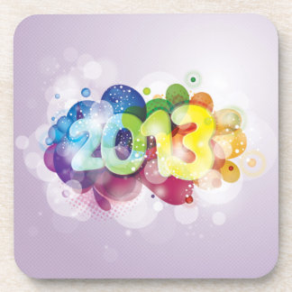 2013  New Year Drink Coaster