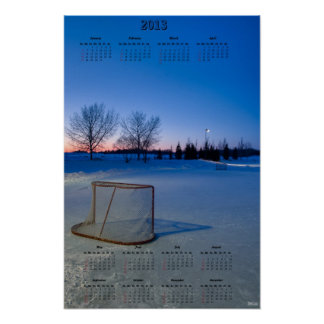 2013 NHL Lockout Calendar Posters