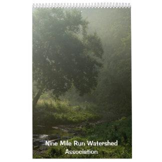 2013 Nine Mile Run Watershed Association Wall Calendar