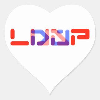 2013 NUEVO PEGATINA DEL FUNCIONARIO DE DJ LUAP
