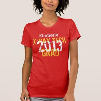 2013 or Any Year X-Ray Tech New Grad Custom Name Tee Shirt