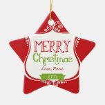 2013 ornamentos blancos y verdes rojos $25,95 ornaments para arbol de navidad