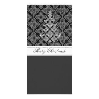 2013 Ornate Luxury  Christmas Tree Photo Card