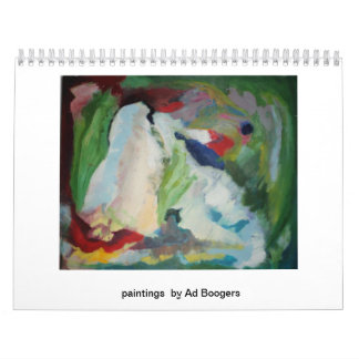2013 paintings by ad boogers calendar