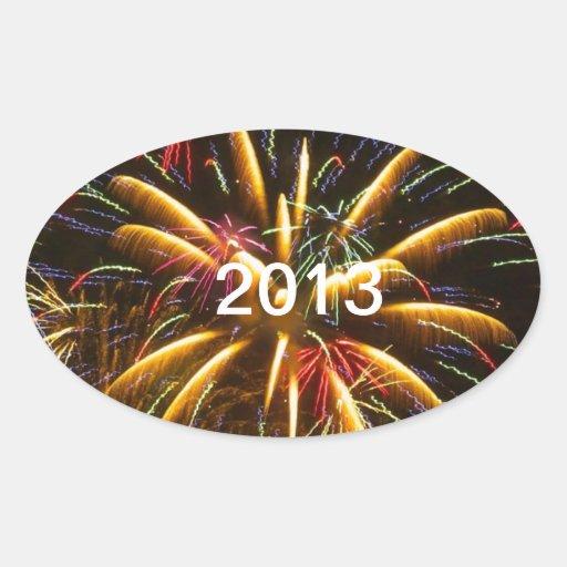 2013 PEGATINA OVALADA