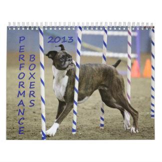 2013 Performance Boxer Calendar