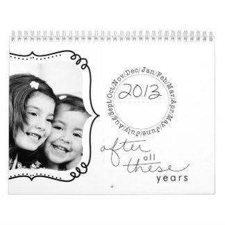 2013 photo whimsical calender calendar