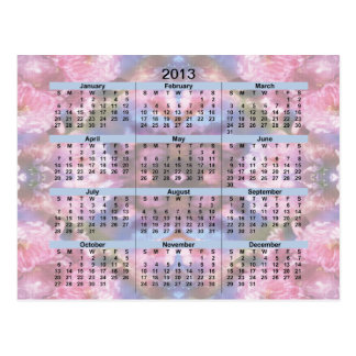 2013 Pocket Calendar - Japanese cherry blossoms Post Cards
