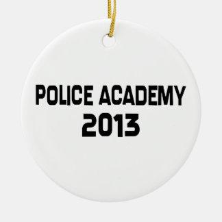 2013 Police Academy Graduation Ceramic Ornament