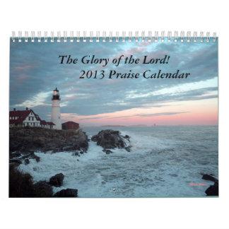 2013 Praise Calendar! Calendar