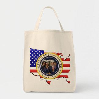 2013 PRESIDENT OBAMA Presidential Inauguration Grocery Tote Bag