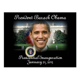 2013 PRESIDENT OBAMA Presidential Inauguration Postcard