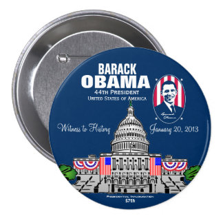 2013 Presidential Inauguration Buttons