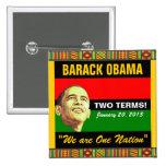 2013 Presidential Inauguration 2 Inch Square Button