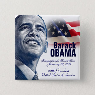 2013 Presidential Inauguration Button