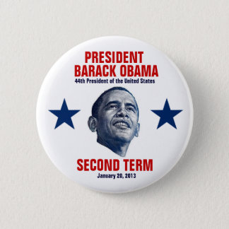 2013 Presidential Inauguration Pinback Button