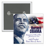 2013 Presidential Inauguration Pinback Buttons