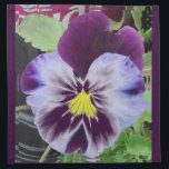 "2013 Purple Pansy&#39;s Cloth Napkin<br><div class=""desc"">2013 Purple Pansy&#39;s</div>"