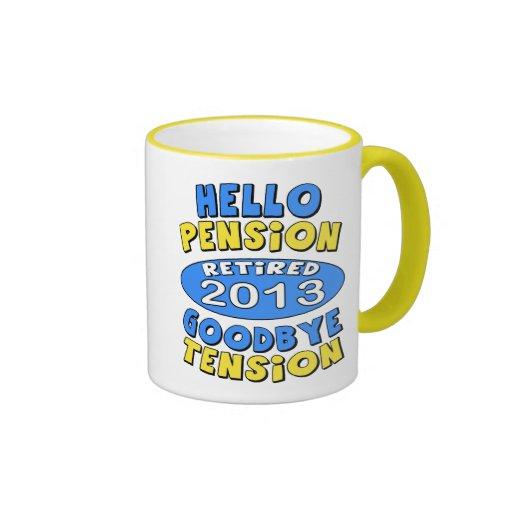 2013 Retirement Coffee Mugs
