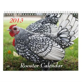2013 Rooster Calendar