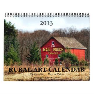 2013 Rural Barn Art Calendar