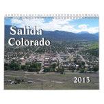 2013 Salida, Colorado Calendar