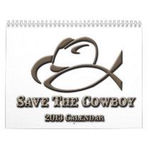 2013 Save The Cowboy Calendar