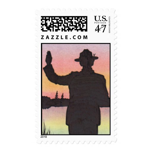 2013 SCOUT STAMP by David Smith II