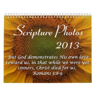 2013 Scripture Photo Calendar