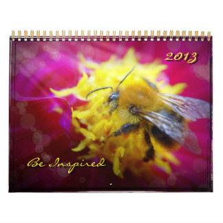 2013 - Se inspire la abeja hermosa, Calendarios De Pared