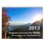 2013 Seasons Around The World Calendars