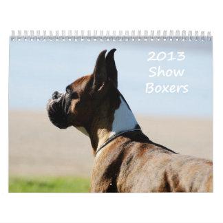 2013 Show Boxer Calendar
