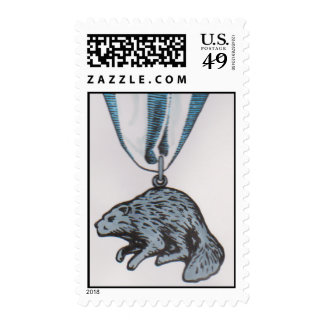 2013 SILVER BEAVER Stamp by David Smith