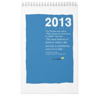 2013 SpreadSalam Calendar