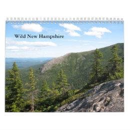 2013 Standard Wild New Hampshire Wall Calendar