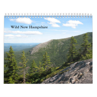 2013 Standard Wild New Hampshire Wall Calendar