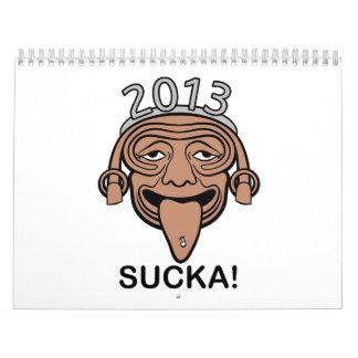 2013 Sucka! Drunk Hipster Mayan Calendar Guy