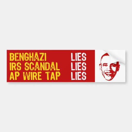 2013 Summer of Scandal Bumper Stickers