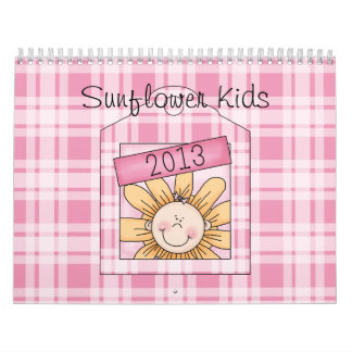 2013 Sunflower Kids Large Calendar