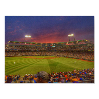 2013 Sunset in Omaha Poster