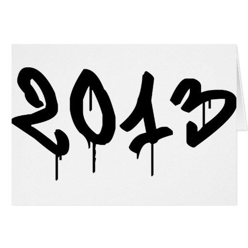 2013 TARJETA DE FELICITACIÓN