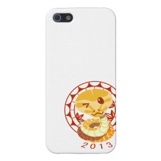 2013 The year of Snake Cover For iPhone SE/5/5s