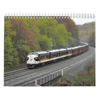 2013 trenes de calendario de Pennsylvania