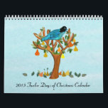 "2013 Twelve Days of Christmas Calendar<br><div class=""desc"">Graphic illustrations and paintings of the Twelve Days of Christmas.  You can customize the calendar style.  Artwork by Magins Creations.</div>"