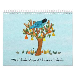 2013 Twelve Days of Christmas Calendar